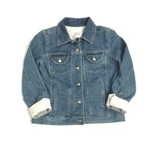 Denim Jacket ~ J. Jill - Medium Wash